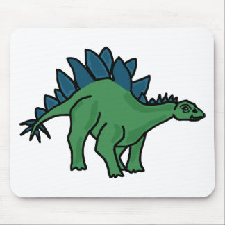 XX- Stegosaurus Dinosaur Cartoon Mouse Pad