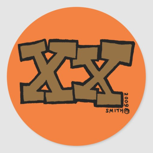 XX sticker