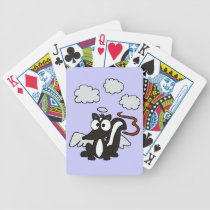 XX- Stinks to High Heaven Skunk Cartoon Bicycle Playing Cards