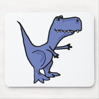 XX- T-Rex Dinosaur Cartoon Mouse Pad