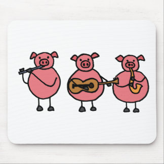 XX- Three Little Musical Pigs Mouse Pad