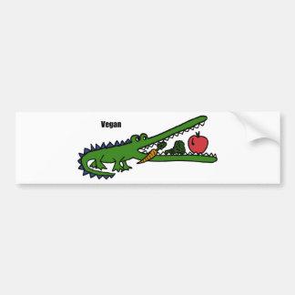 XX- Vegan Crocodile Bumper Sticker