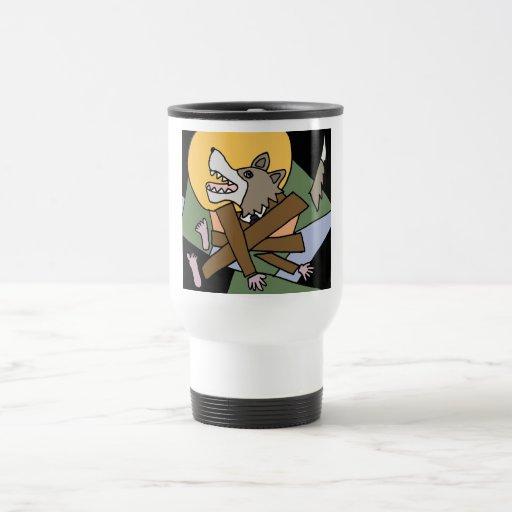XX- Werewolf Transformation Coffee Mugs