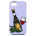 XX- Wine and Grapes Art Design iPhone 5 Covers