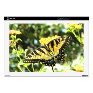 XX- Yellow Swallowtail Butterfly Photography Decals For Laptops