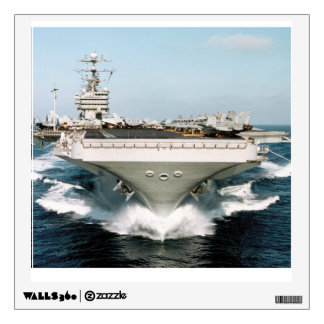 XXI Century  Ship Aircraft Carrier Wall Decal
