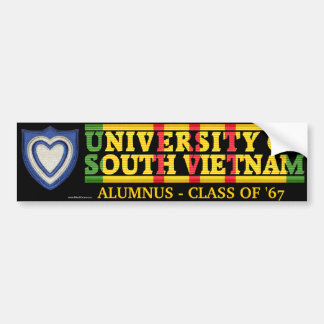 XXIV Corps - U of South Vietnam Alumnus Sticker
