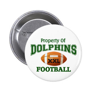 XXL Dolphins Pinback Buttons