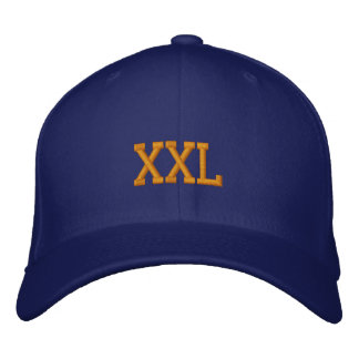 XXL EMBROIDERED BASEBALL CAP