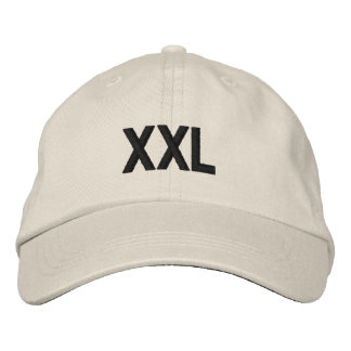 XXL EMBROIDERED HAT