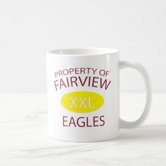 XXL Fairview Classic White Coffee Mug