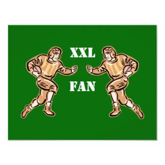 XXL Football Fan Card