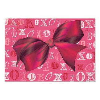 XXOO Bows & Roses Matching Set Card