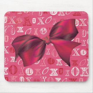 XXOO Bows & Roses Matching Set Mousepads