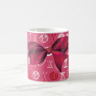 XXOO Bows & Roses Matching Set Mugs