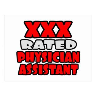 XXX ayudante clasificado del médico Postales