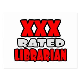 XXX bibliotecario clasificado Tarjetas Postales