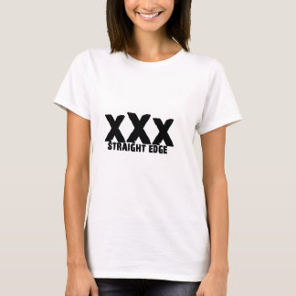 xXx borde recto Playera