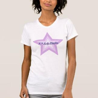 XXX camisa púrpura de la estrella del médico
