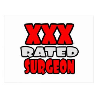 XXX cirujano clasificado Postales