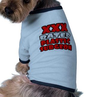 XXX cirujano plástico clasificado Camiseta De Perro
