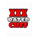 XXX cocinero clasificado Tarjeta Postal