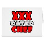 XXX cocinero clasificado Tarjeton