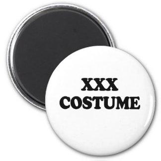 XXX COSTUME - 2 INCH ROUND MAGNET