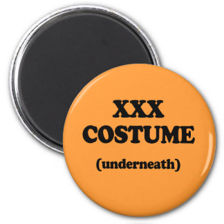 XXX Costume 2 Inch Round Magnet
