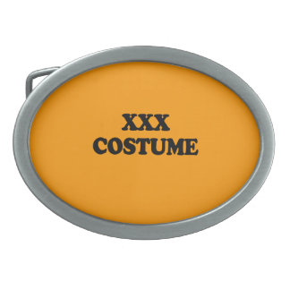 XXX COSTUME - - Halloween Belt Buckles