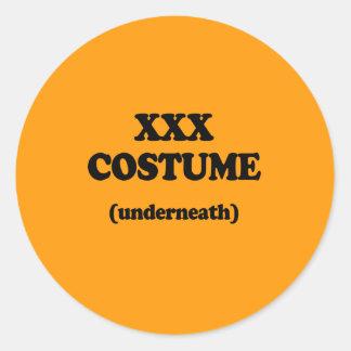 XXX COSTUME - Halloween -.png Sticker