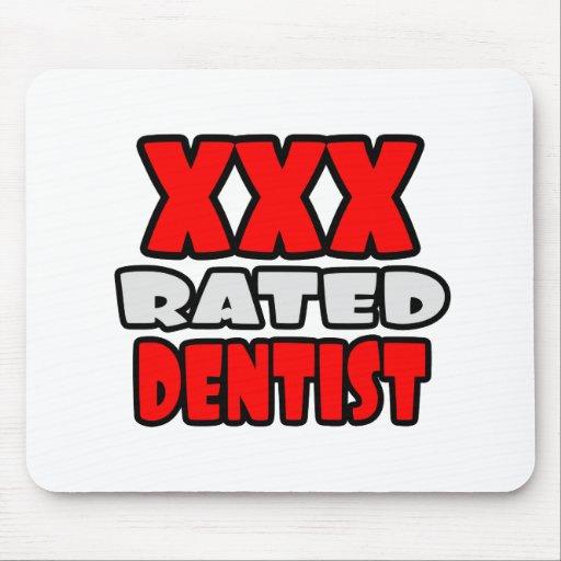 XXX dentista clasificado Mousepads