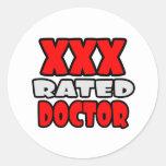 XXX doctor clasificado Pegatina