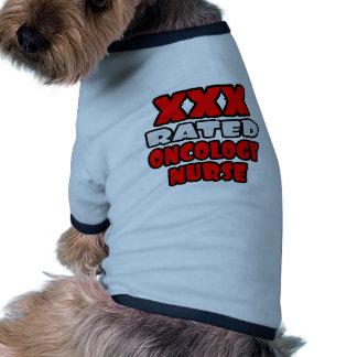 XXX enfermera clasificada de la oncología Camisetas De Perrito