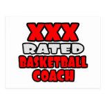 XXX entrenador de béisbol clasificado Tarjetas Postales