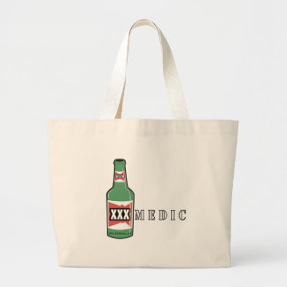 XXX Medic Beer Large Tote Bag