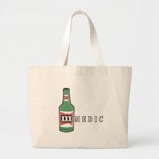 XXX Medic Beer Large Tote Bag
