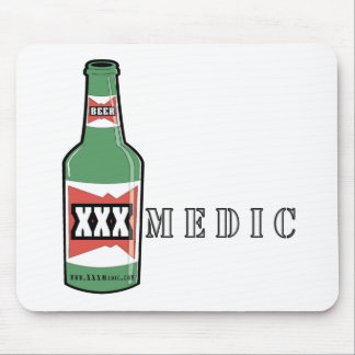 XXX Medic Beer Mouse Pad
