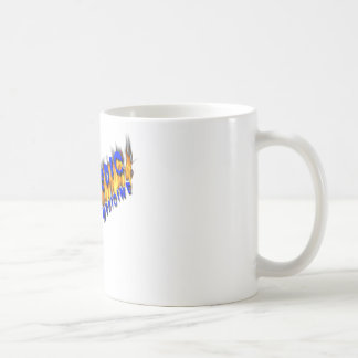 XXX Medic Blue Text With Flame Coffee Mugs
