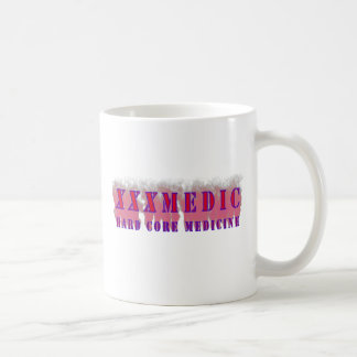XXX Medic Red text with red smoke Coffee Mug