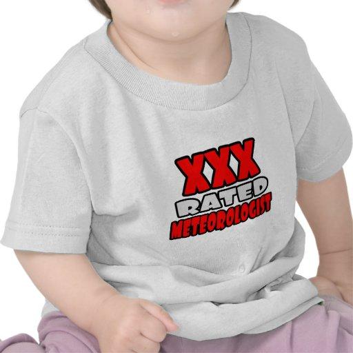XXX meteorólogo clasificado Camisetas