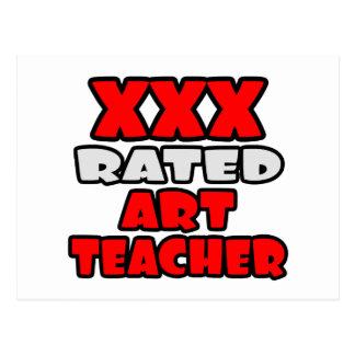 XXX profesor de arte clasificado Postal