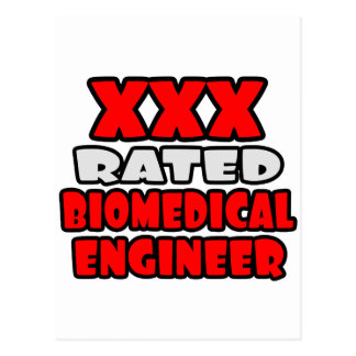 XXX Rated Biomedical Engineer Post Cards