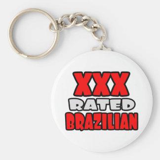 XXX Rated Brazilian Keychain