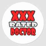 XXX Rated Doctor Sticker