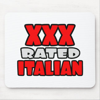 XXX Rated Italian Mouse Pad