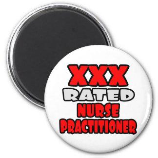 XXX Rated Nurse Practitioner 2 Inch Round Magnet