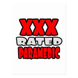 XXX Rated Paramedic Postcard