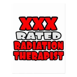XXX Rated Radiation Therapist Postcard