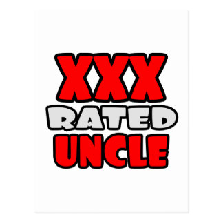 XXX Rated Uncle Postcard